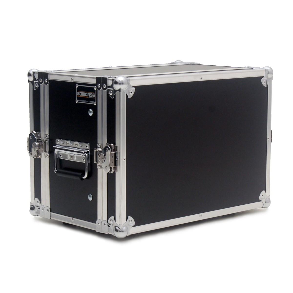 Hard Case Rack Mesa Soundcraft Mixer Ui24r + 3U