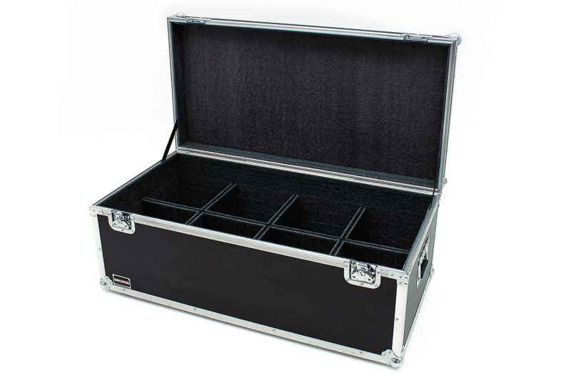 Hard Case Refletor Canhão PAR LED 64 (8 PÇ)  - SOMCASE