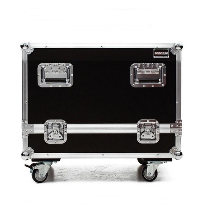 Hard case Subwoofer RCF 8004   Individual C/ Roda