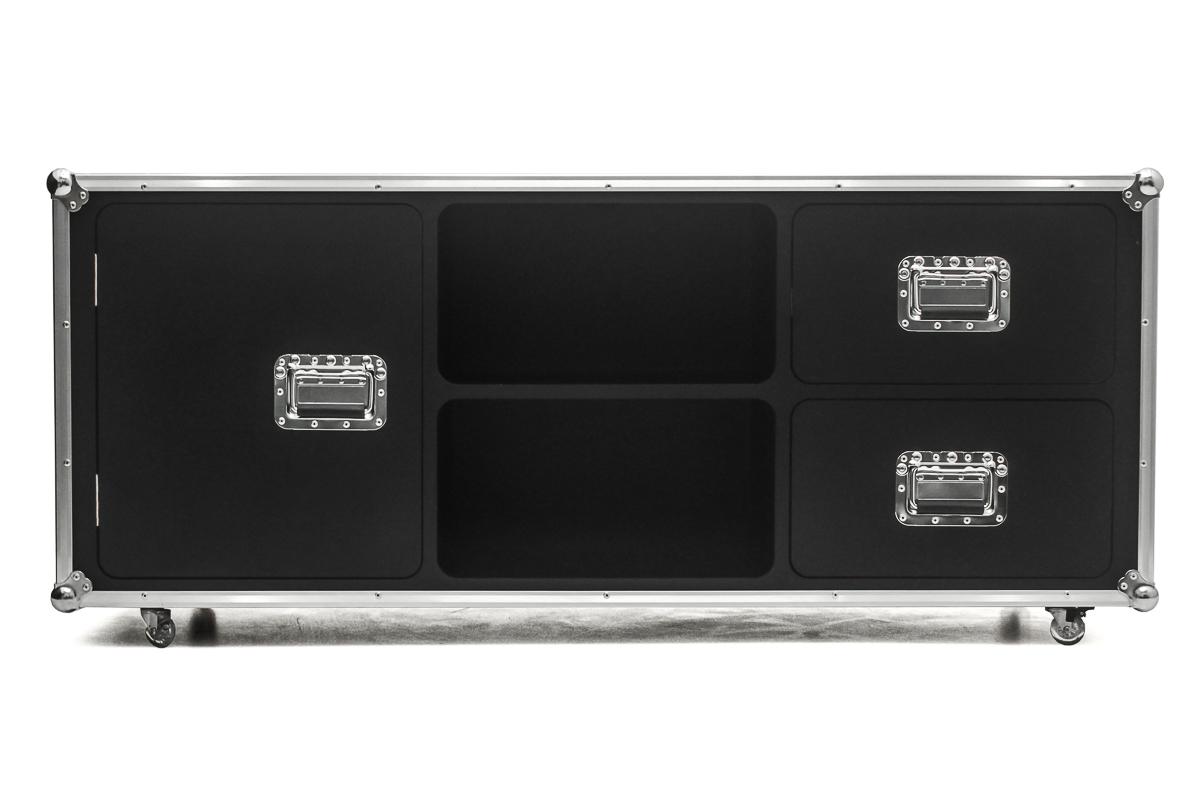Hard Case Suporte rack e armário TV Music