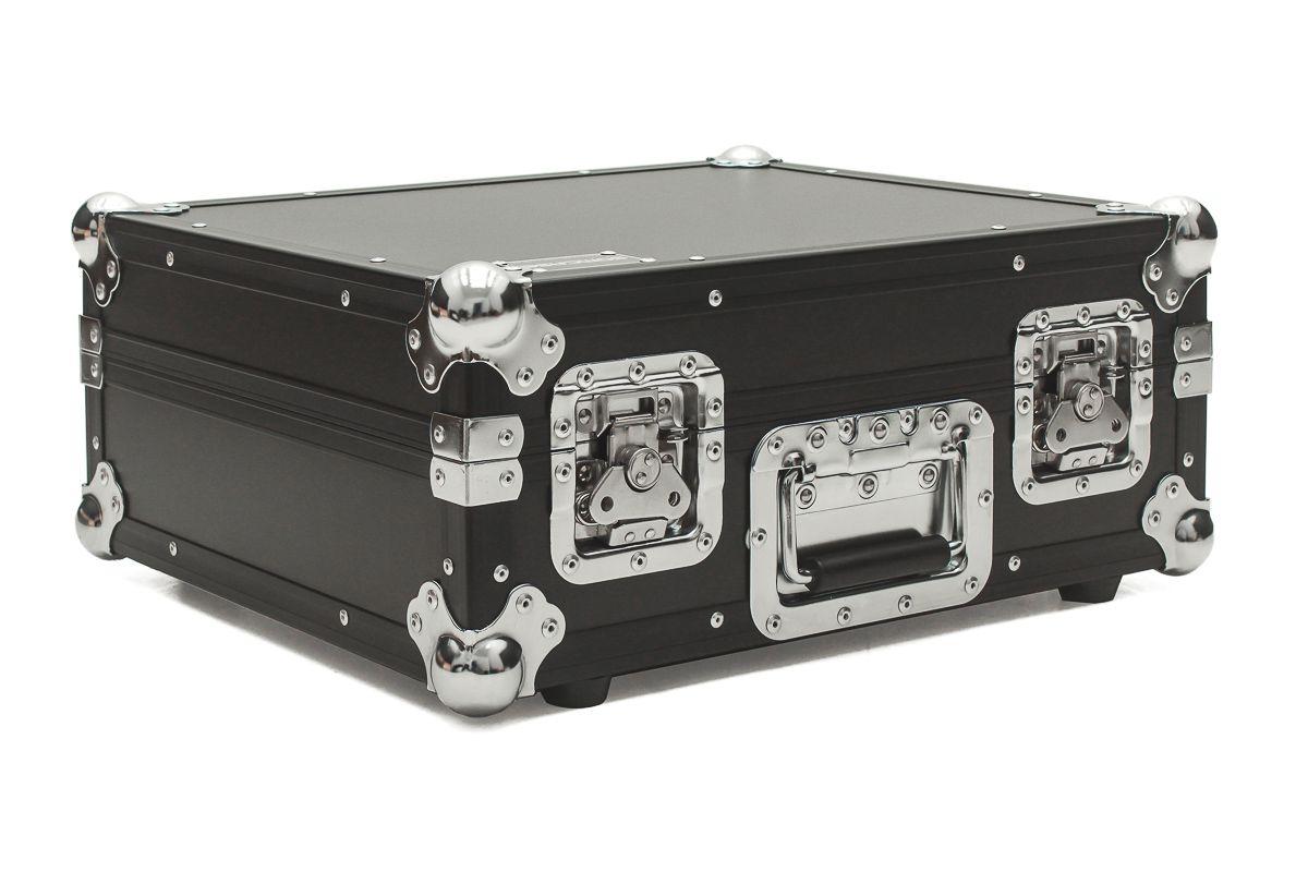 Hard Case Toca Disco Mk Technics Sl 1210 Mk2 Black/Chrome  - SOMCASE