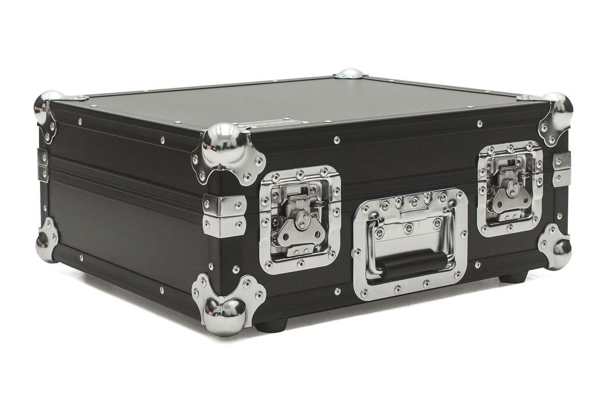 Hard Case Toca Disco Technics Mk2 Black/Chrome