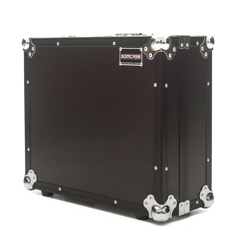 Hard Case Toca Disco Technics Mk2 Black/Chrome  - SOMCASE
