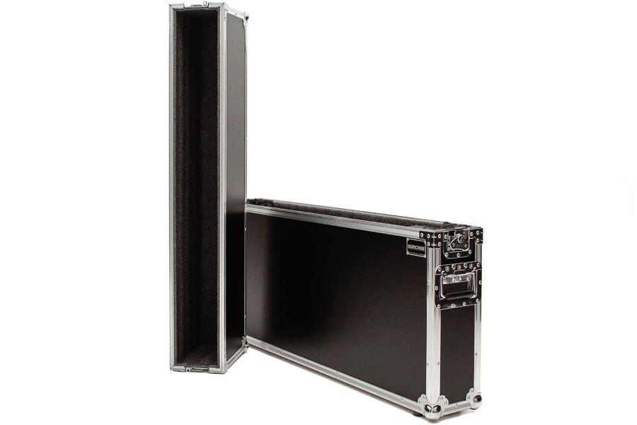 Hard Case TVs 42 Duplo com Rodas Samsung, PHilips, LG, Sony