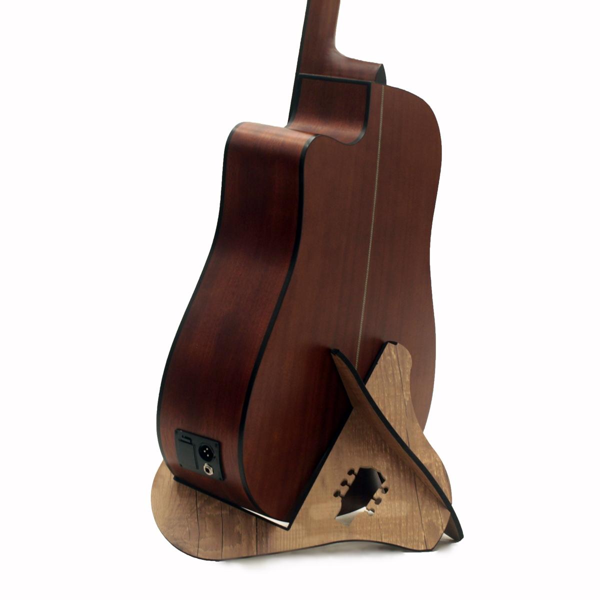 Suporte de Chão Violão Folk e Clássico Gonfour GF01 Compacto