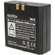 Bateria para Flash Godox V860 II Original VB18 2000mAh Li-Ion 11.1V