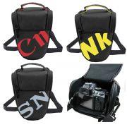 Bolsa Para Câmera + Lente Fotográfica Marca Sony, Canon ou Nikon