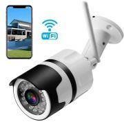 Câmera de Segurança IP CFTV / CCTV 1.8mp C/ Infravermelho Bullet 1920x1080 3.6mm Lente