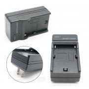 Carregador Bateria Para Sony, Panasonic, JVC, Iluminador Led, Ring Light Etc Genérico Veja modelos compatíveis