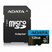 CARTAO DE MEMORIA MICRO SD ADATA CLASSE 10 128GB C/ ADAPTADOR