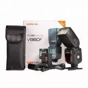 Flash Fotográfico Godox V860II para Canon com TTL e Bateria V860 II C V860C