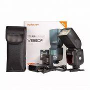 Flash Fotográfico Godox V860II para Nikon com TTL e Bateria V860 II N V860N
