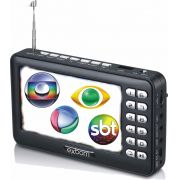 Mini TV Digital Multimídia Portátil 4.3