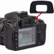 Ocular Eyecup DK-20 Nikon D3000 D3100 D3200 D3300 D3400 D3500 D40 D50 D5100 D5200 D5300 D5500 D5600 D60 D70 entre outras