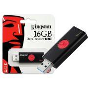 PEN DRIVE USB 3.0 DT106/16GB DATATRAVELER 106 16GB KINGSTON