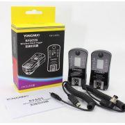 Radio Flash Yongnuo RF605N Par Com Telinha LCD Manual Sem TTL RF 605 N