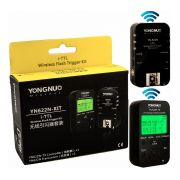 Radio Flash Yongnuo YN622N-KIT 1 Transmissor TX Com LCD + 1 Receptor Yn 622n Kit Para Nikon