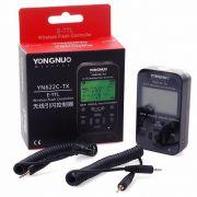 Radio Flash Yongnuo YN-622C-TX TTL Para Canon Transmissor Com LCD YN622TX