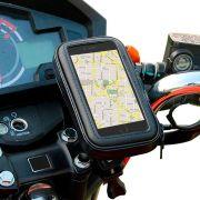Capa de Smartphone até 6.3 Polegadas Moto e Bicicleta Case Impermeável C/ zíper Suporte em Guidão SP-C20L