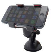 Suporte para Celular, GPS, Iphone Clipe Duplo com Ventosa Grande Alta Sucção Exbom SP-26