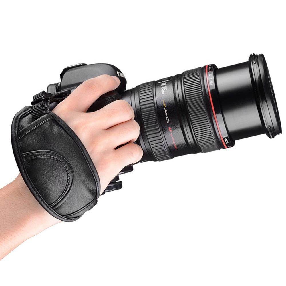 Alça de Mão Para Estabilização Filmagem Câmeras DSLR ou Fotografia Hand Grip