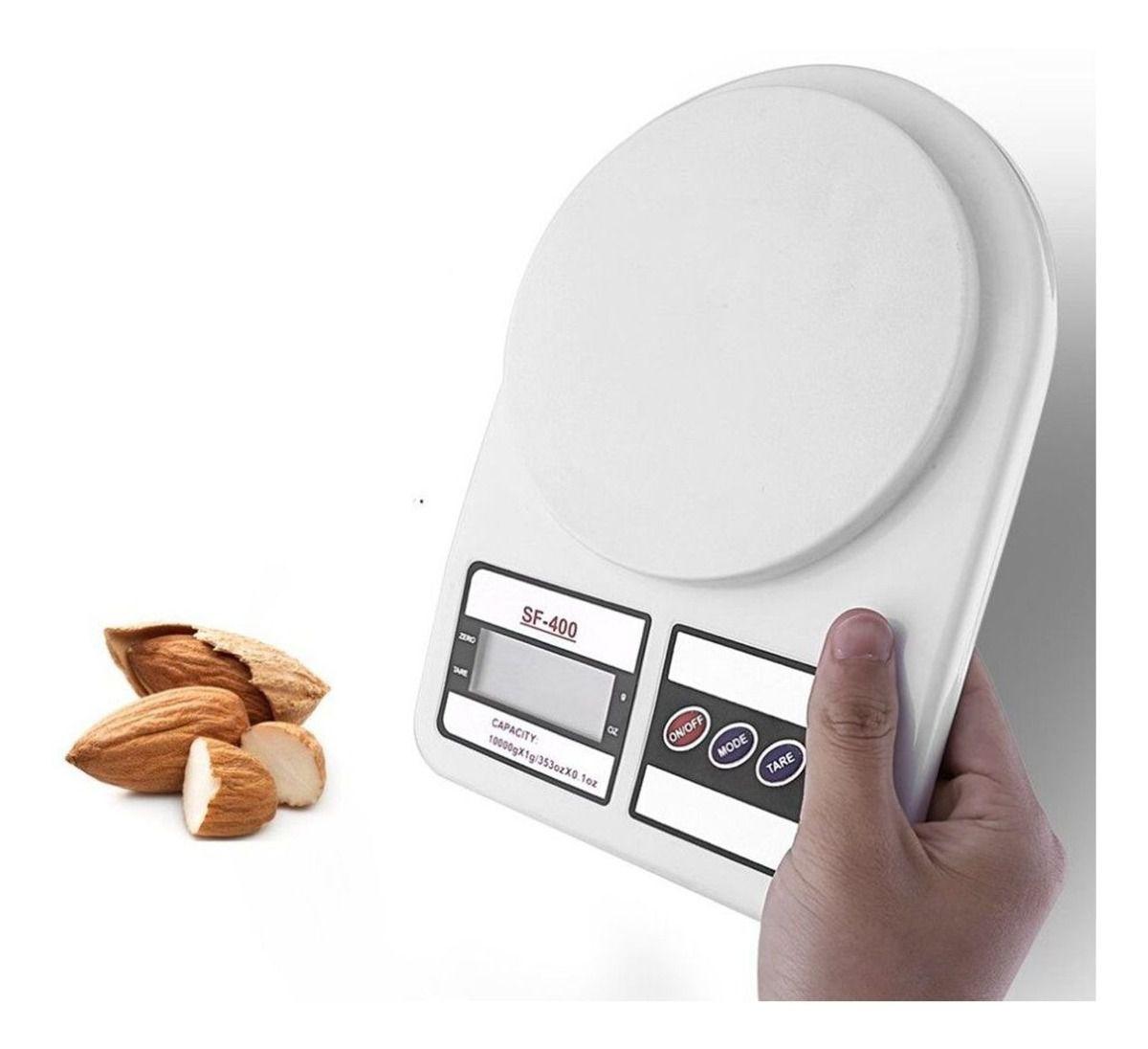 Balança Digital de Cozinha Alta Precisão 1gr Até 10Kg Aiker SF-401