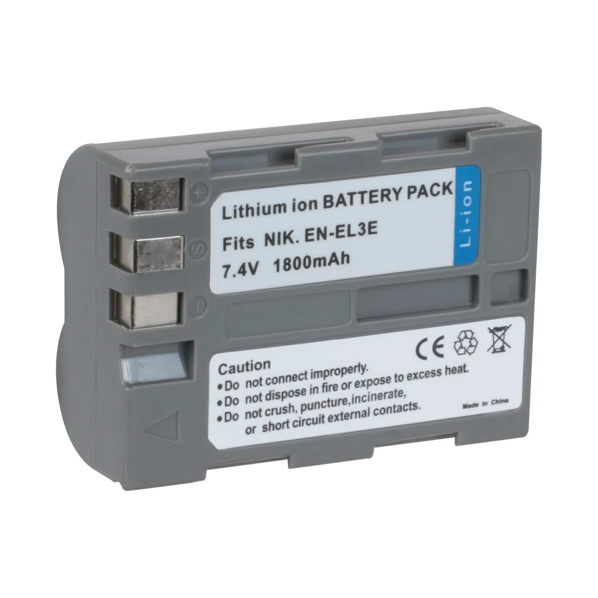 Bateria Para Câmeras Nikon EN-EL3E Best Battery