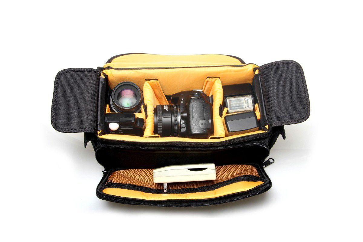 Bolsa Mala Fotográfica Indic III Case Maleta Fotógrafos Câmeras e Lentes