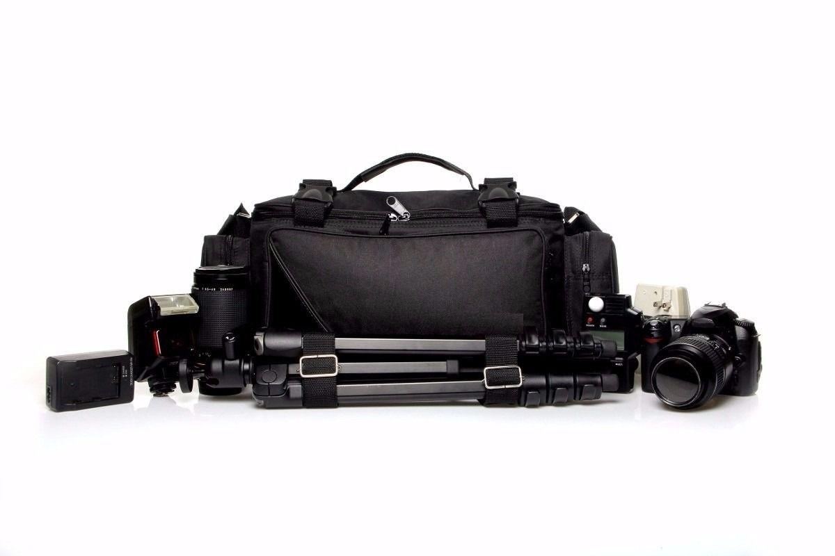 Bolsa Mala Fotográfica Oceanic III Case Maleta Fotógrafos Câmeras e Lentes