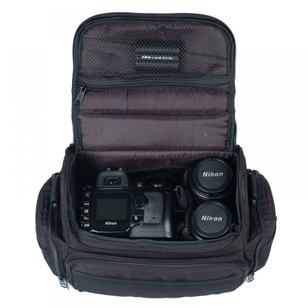 Bolsa Mala Fotográfica Saturno Case Maleta Fotógrafos Câmeras e Lentes
