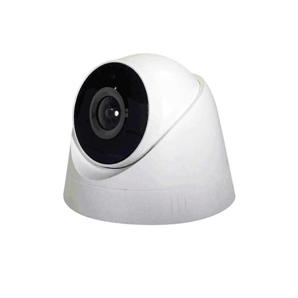 Câmera de Seguranca NVR 2.0 MP C/ Infravermelho Dome A301B Digital 1920x1080P 3.6mm Funciona Cabo de Rede