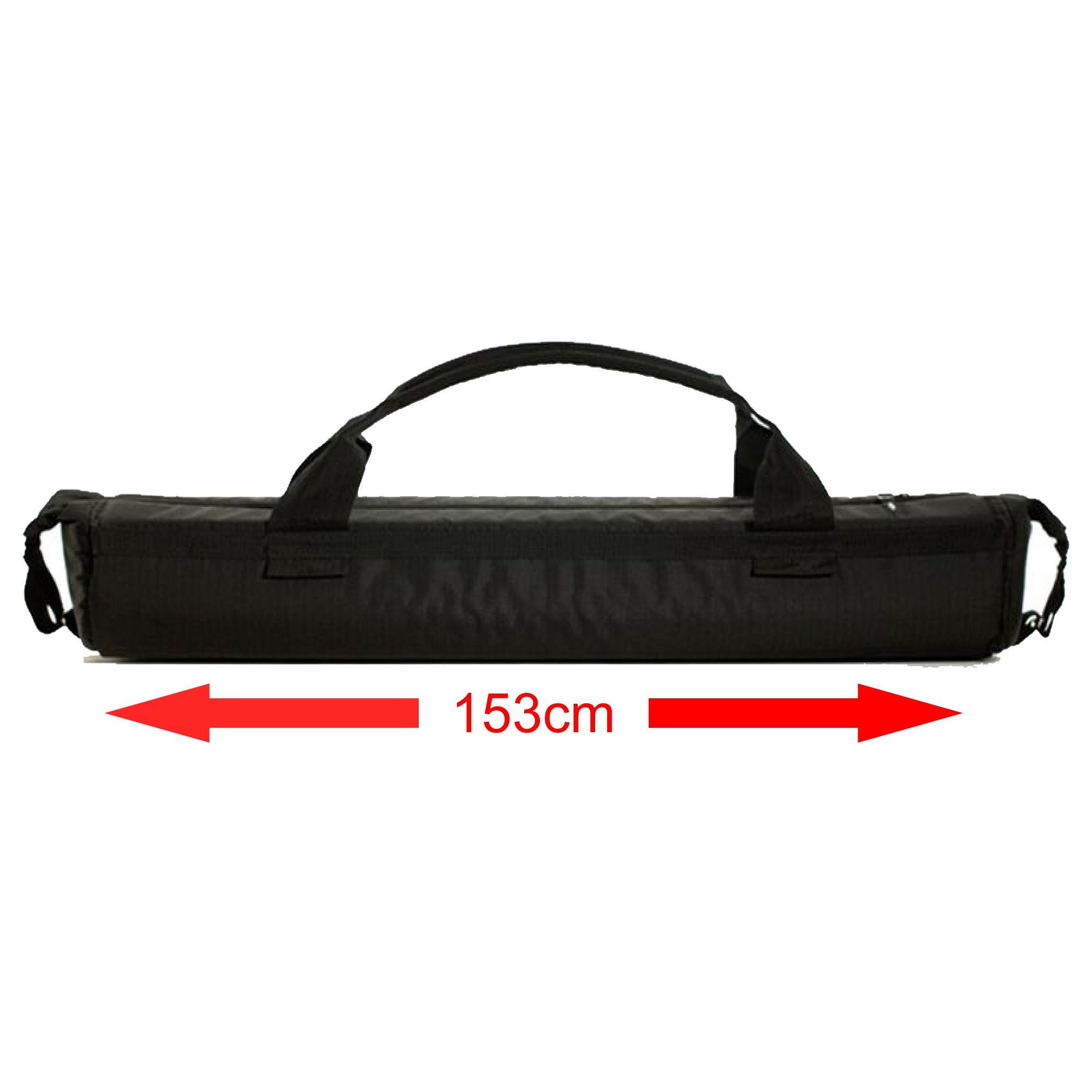Capa Case Alhva 153cm Bag de Tripé, Instrumento Musical, Telescópio Bolsa em Nylon c/ Espuma