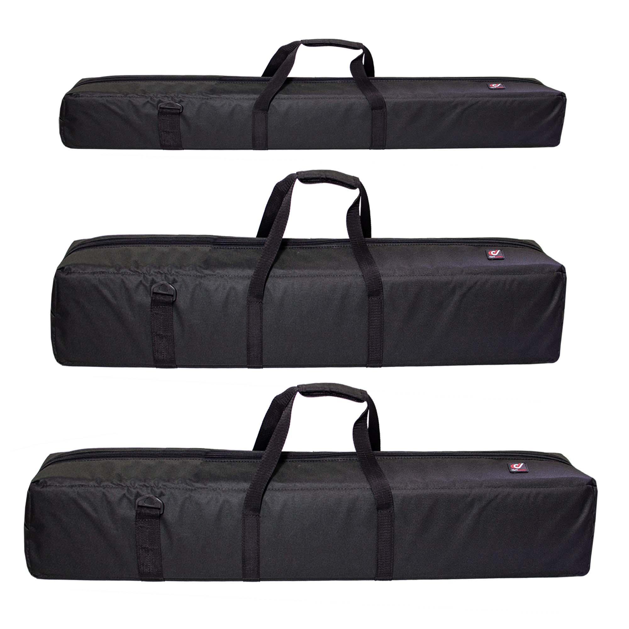 Capa Case ou Bag de Tripé ou Instrumento Musical ou Telescópio Ded em Nylon Bolsa C/ Espuma