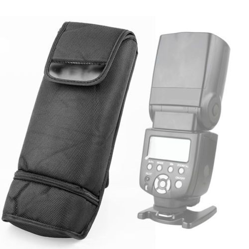 Capa Porta Flash Case Tam. Universal C/ Porta Pilhas e Difusor