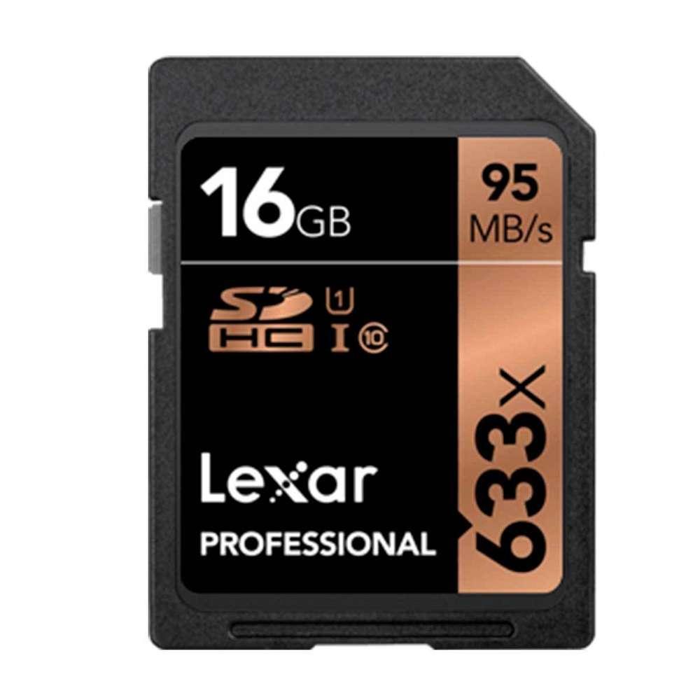 Cartão de Memória Lexar SD 16GB 95MB/s SDHC V10 U1 UHS-I Classe 10