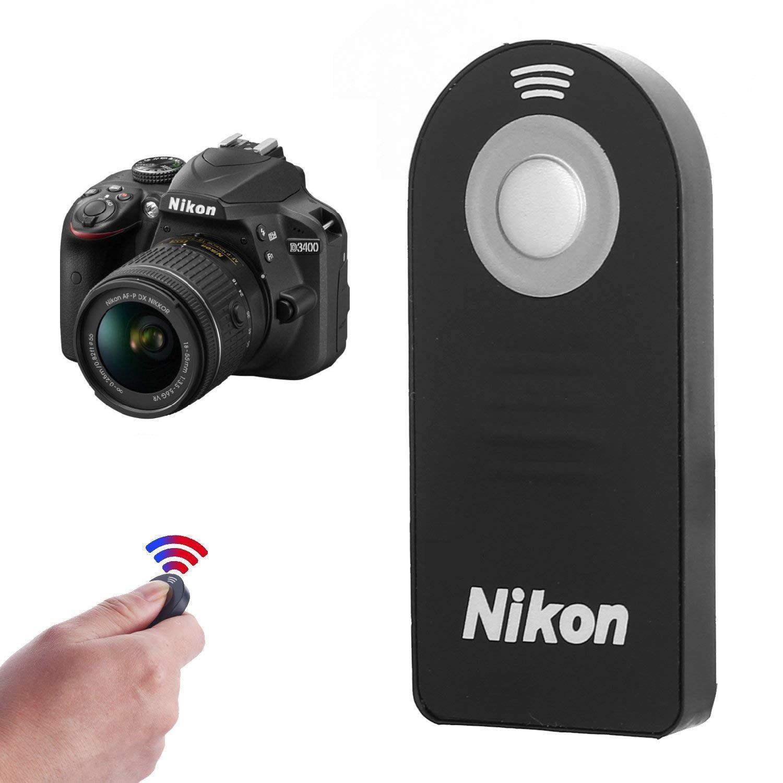 Controle Remoto Disparador de Fotografia ou Gravação Câmeras Nikon ML-L3