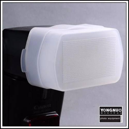 Difusor de Flash Copo de Encaixar Canon e Yongnuo 430EX 465EX 480EX