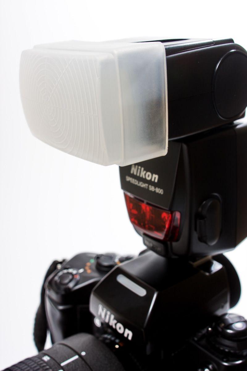 Difusor de Flash Copo de Encaixar Nikon SB-600 SB-800 SB600 SB800
