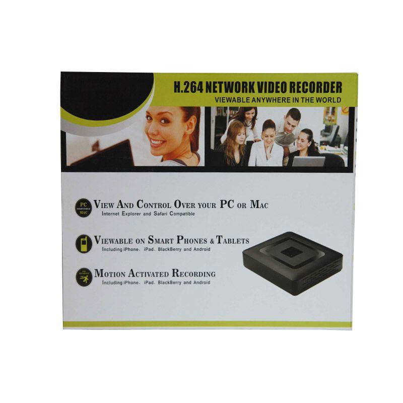 DVR / AHD Stand Alone Gravador Digital de Vídeo Para Câmera de Segurança CFTV / CCTV 4 Canais H.264 1080p Hybrid A1004NR