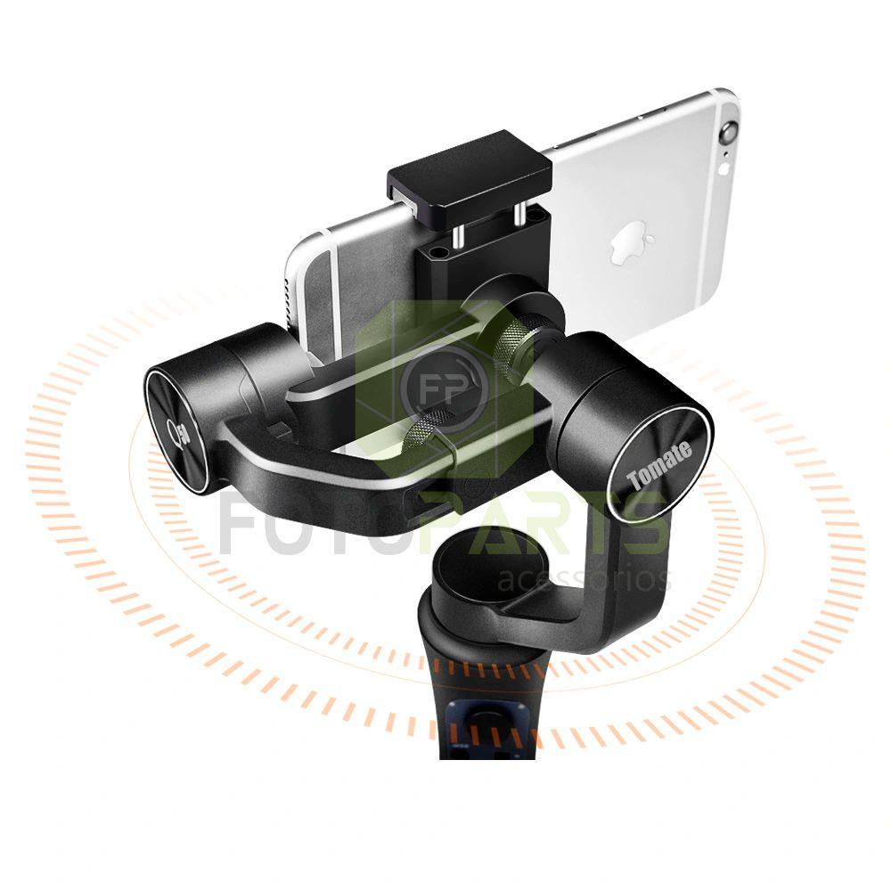 Estabilizador Gimbal Para Celular Suporte Steadycam Tomate Mtg-3030