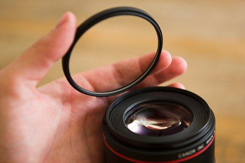 Filtro UV Ultravioleta Profissional Para Lente Câmera Fotográfica