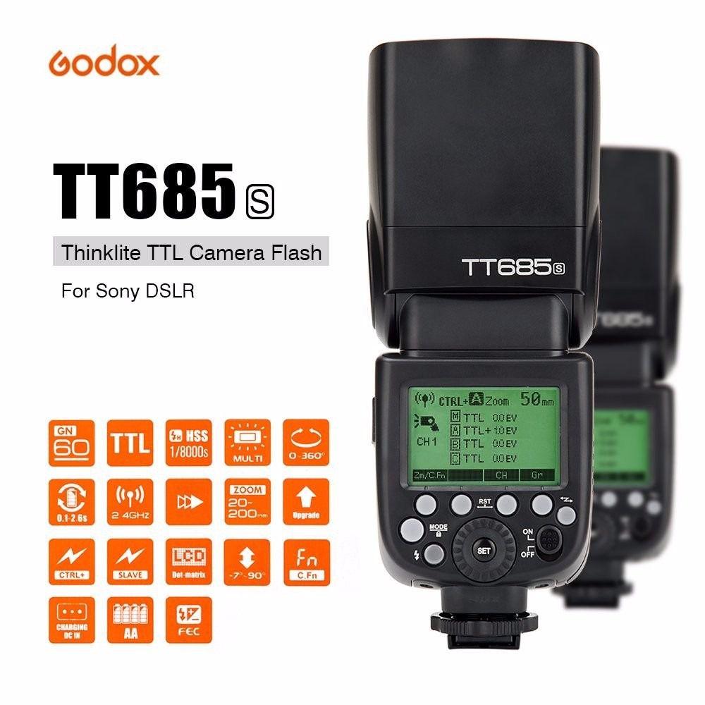 Flash Fotográfico Godox Original TT685 S TTL TT685S para Sony
