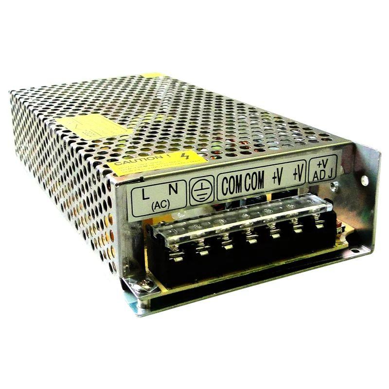Fonte de Alimentação Chaveada 12V 10A Bivolt P/ Cftv e Outras Aplicações