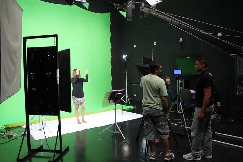 Fundo Fotográfico Tecido Chroma Key RGB Fotografia e Vídeo Recorte e Efeitos
