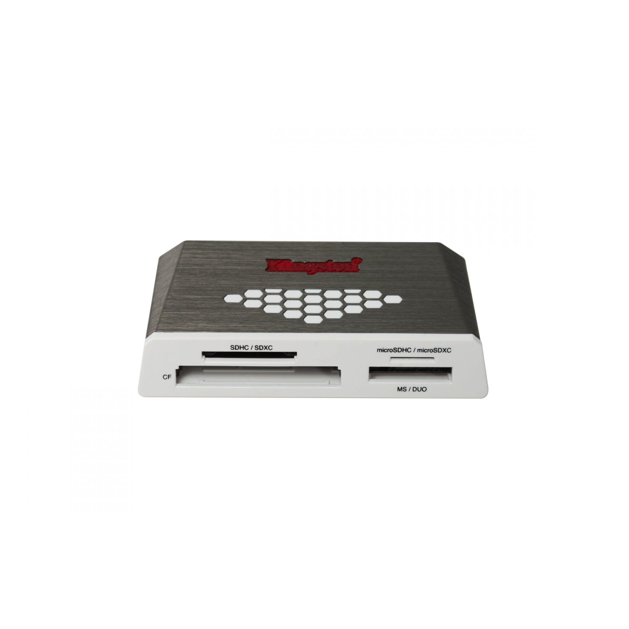 LEITOR DE CARTÕES KINGSTON ORIGINAL USB 3.0 DE ALTA VELOCIDADE FCR-HS4
