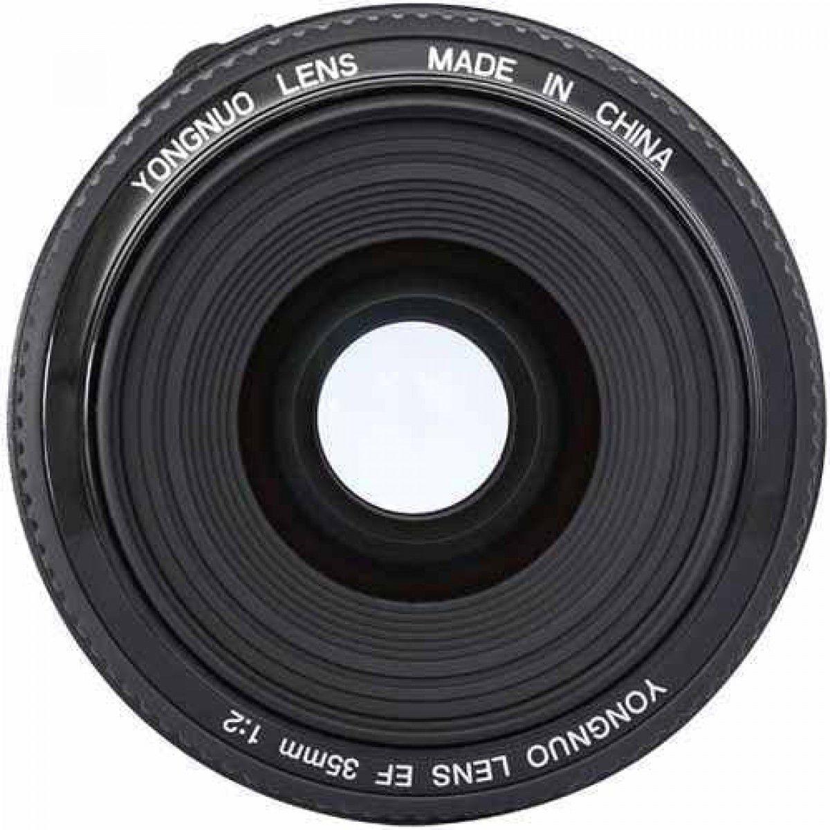 Lente Objetiva Yongnuo 35mm F2.0 YN35mm para Canon