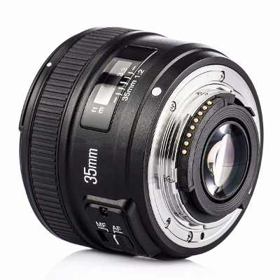 Lente Objetiva Yongnuo 35mm F2.0 YN35mm para Nikon