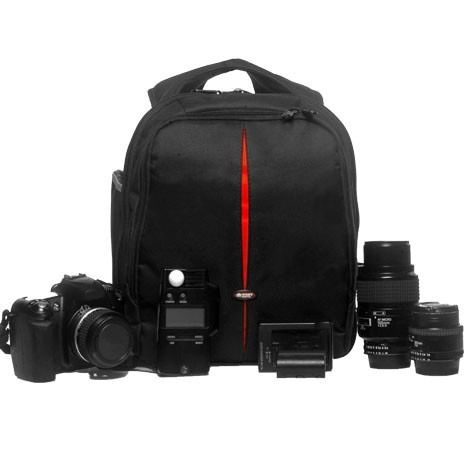 Mochila Bolsa Câmera Fotográfica VMB II Case Fotógrafos Câmeras e Lentes