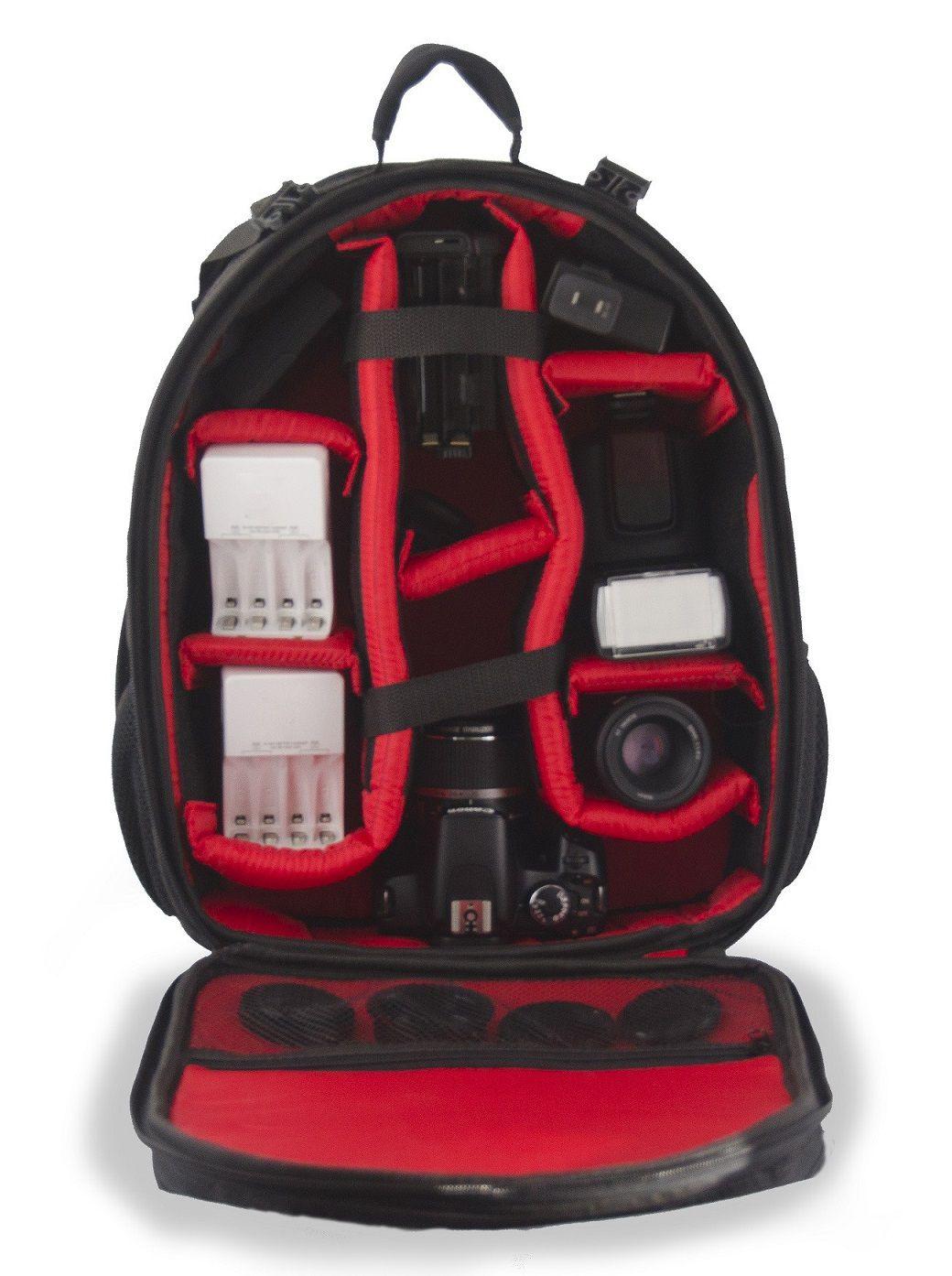 Mochila Bolsa Câmera Fotográfica VMB III Case Fotógrafos Câmeras e Lentes