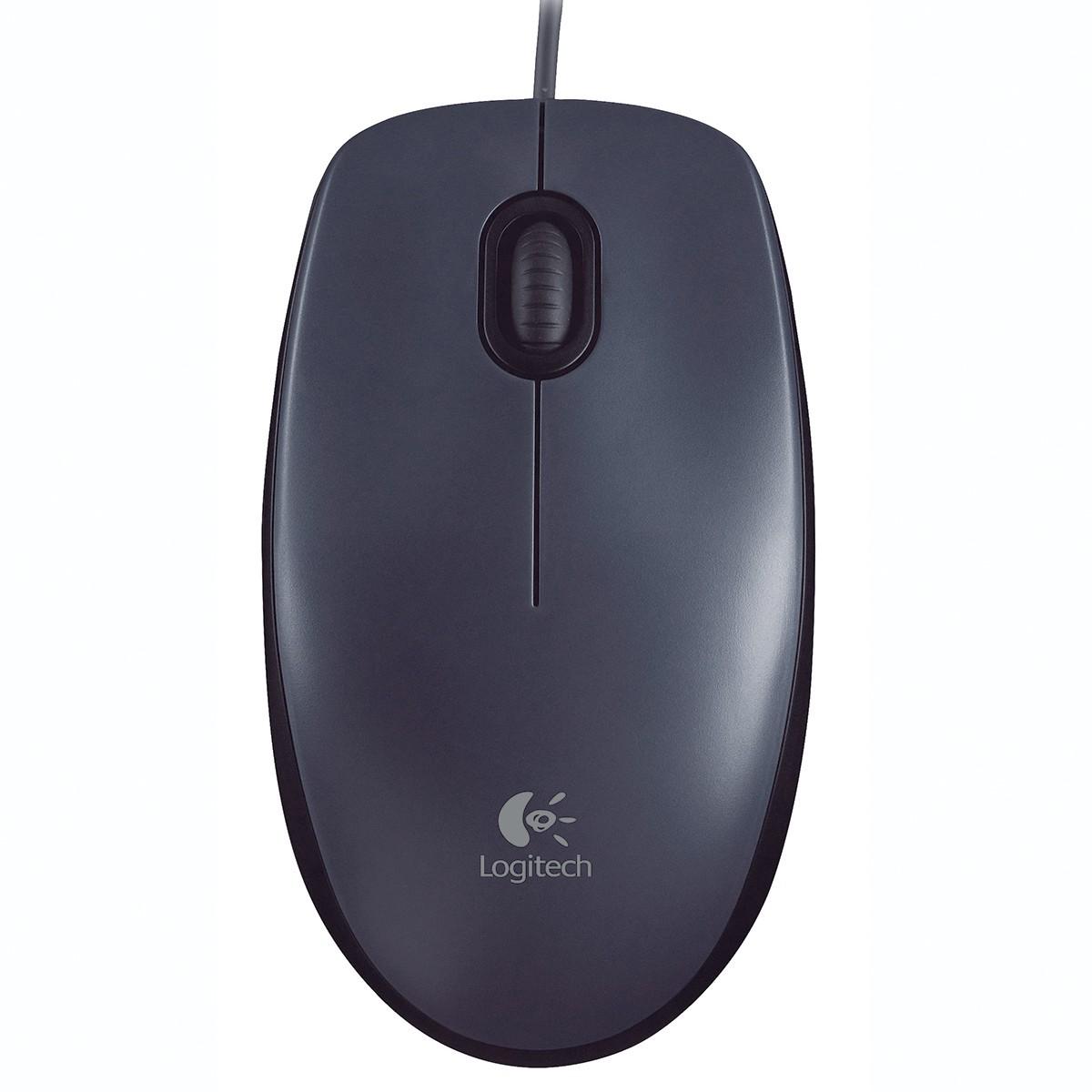 Mouse Com Fio USB Logitech Preto M90